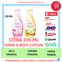 CITRA HBL HAND & BODY LOTION CITRA PEARLY WHITE NATURAL WHITE 230 ML
