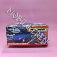Matchbox MBX Highway 2015 Jaguar F-Type Coupe Blue