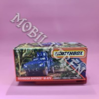 Matchbox MBX Jungle Oshkosh Defense M-ATV Blue