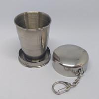 Gantungan Kunci Gelas Lipat Camping Folded Cup - 75 mL