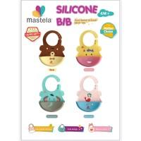 MASTELA Silicone Baby Bib / Celemek Silikon Bayi
