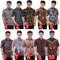 Baju batik pria - Hem batik pria M, L, XL