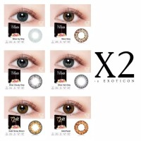 Softlens İce Silver Gold Normal&Minus 15mm