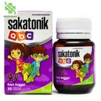 Sakatonik abc Rasa Anggur Per Botol 30 Tablet Hisap