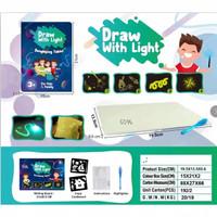 Magic Drawing Board / Glowing Board Papan LED Toy Mainan Edukasi Anak