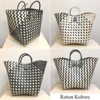 Kana Bag - Shopping Bag Anyam, Tas Belanja, Goodie Bag, Tas Parcel Bag