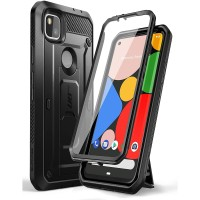 Case Google Pixel 4A SUPCASE Unicorn Bettle Pro Belt Holster - Black