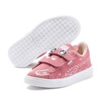Sepatu Puma Kids Suede Monster Family V PS Peony - Puma Whi
