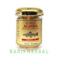 K-MAX ALASKA DEEP SEA FISH OIL (SUPER OMEGA-3,6,9) - tutup emas