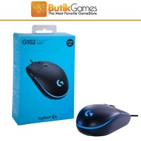 Mouse Gaming Logitech G102 G 102 Gaming Mouse Wired Kabel