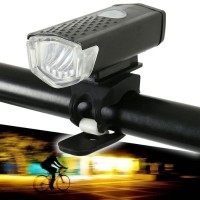 Lampu Depan Sepeda LED Battery Charge / Bicycle LED USB Rechargeable