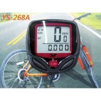 Speedometer sepeda 15 Fungsi/Odometer LCD/ Anti Air