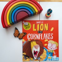 Buku Anak, Buku Cerita Anak - There's A Lion In My Cornflakes
