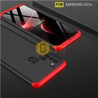 Case Samsung A21s Hardcase Original GKK 360 Full Protective