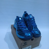Sepatu Badminton Apacs / SP-600 BIRU ORI