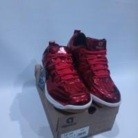 Sepatu Badminton Apacs / SP-600 MERAH ORI