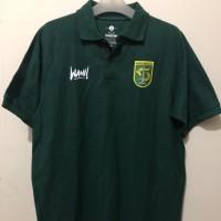 Polo shirt wani persebaya - green Original Official Persebaya Store