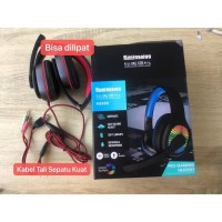 Headphones Bando Gaming / Headset Smartphone & Free Splitter Aux - 011