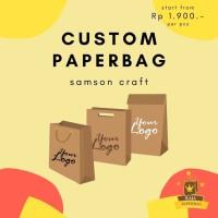 Custom Paperbag Custom Tas Kertas Custom Goodiebag