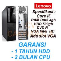 cpu pc Lenovo slim core i5 3470 gen3 Ivy bridge ori branded