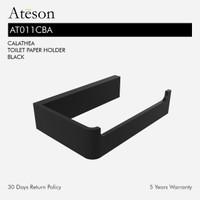 ATESON AT011CBA Tempat Tissue Roll Gulung Aksesoris Kamar Mandi Hitam