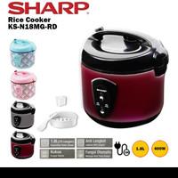 Sharp magic com rice cooker 1.8L KS-N18MG - pink