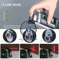 Multi-Purpose Level Pro 3 Alat Ukur Meter Sinar Laser Horizon Vertical