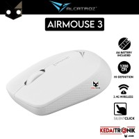 Mouse Wireless Alcatroz Optical Mouse Airmouse 3 Portable Silent Full