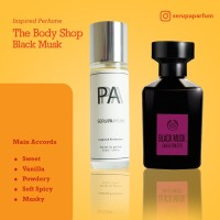 SERUPA PARFUM BLACK MUSK THE BODY SHOP-inspired-UNISEX - 35ml