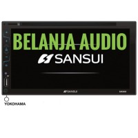 DOUBLE DIN SANSUI GLASS PANEL SA5202I