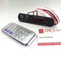 Kit Mp3 Bluetooth Module Player TF USB AUX Radio FM Remot Remote Modul