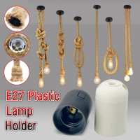 Holder Lampu Plastik E27