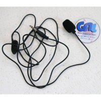 Microphone with clip - Clip Mic - Clip on Mic 2 garis Vlog Vlogger - 3