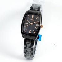 jam tangan GUESS WANITA OVAL SILVER HITAM HITAM ROSE BIRU