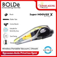 BOLDe SUPER HOOVER WIRELESS / PORTABLE VACUM CLEANER X ALPHA - YELLOW