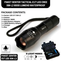 PAKET SENTER LED SUPER TERANG PAKET SENTER LED CREE SENTER SWAT