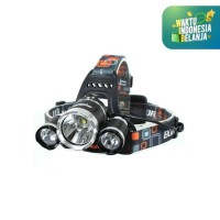 SENTER KEPALA SUPER TERANG SENTER KEPALA LED HEADLAMP LED 5000 LUMENS