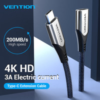 Vention Kabel Type C USB Extension Extender Cord Thunderbolt 3 PD