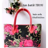 tas batik tas tenteng tas pesta handbag TB195Besar