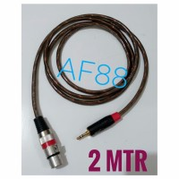 Kabel mixer audio female to jack stereo 3,5mm makita trans