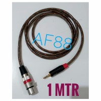 Kabel mixer audio female to jack stereo 3,5 mm makita trans