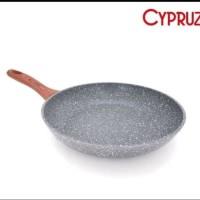 Kitchen House Cypruz FRY PAN Induction Induksi Marbel 24cm 24 cm