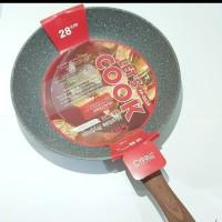 Kitchen House Cypruz FRY PAN Induction Induksi Marbel 28cm 28 cm