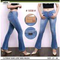 Celana Jeans Wanita Cutbray 27 28 29 30