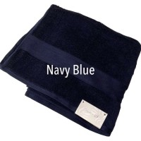 Savra x SF Towel - Handuk Navy Blue