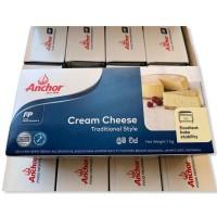 cream cheese anchor 1 kg. kemasan Biru