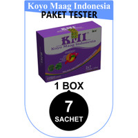 KOYO MAAG INDONESIA Obat Sakit Maag dan Asam Lambung PAKET TESTER