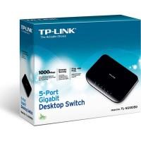 TP-LINK TL-SG1005D : TPLink 5 Port Gigabit Desktop Switch Hub SG1005D