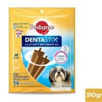 Pedigree - 210g Denta Stix SMALL Dog 5-10kg cemilan dental anjing