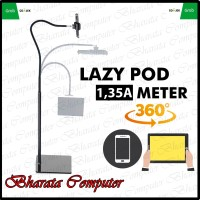 Lazypod Lantai 1.35M Phone Holder Stand Hp Holder Hp for Phone Tablet
